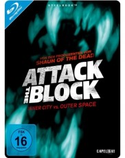 Attack the Block: Steelbook Blu-ray Cover