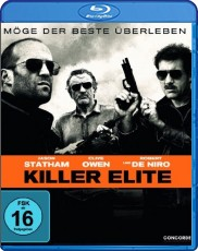 Killer Elite Blu-ray Cover