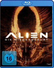 Alien 4: Die Wiedergeburt Blu-ray Cover