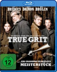 True Grit Blu-ray Cover