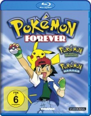 Pokemon: Forever Edition Blu-ray Cover