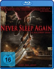 Never Sleep Again Blu-ray Cover