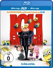 Ich: Einfach unverbesserlich 3D (inkl. 2D Version) Blu-ray Cover