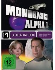 MONDBASIS ALPHA 1 - Season One Blu-ray Cover