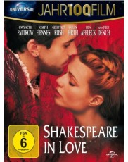 Shakespeare in Love - 100Jahr Edition Blu-ray Cover