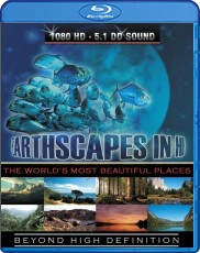 Earthscapes: The worlds most beautiful places Blu-ray Cover