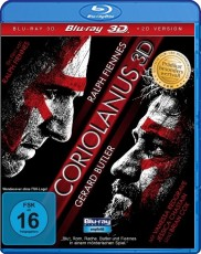 Coriolanus 3D (inkl. 2D Version) Blu-ray Cover