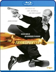 The Transporter Blu-ray Cover
