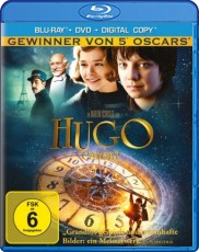 Hugo Cabret (inkl. DVD & Digital Copy)  Blu-ray Cover