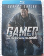 Gamer - Steelbook (Import) Blu-ray Cover