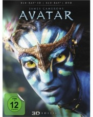 Avatar - Aufbruch nach Pandora 3D (inkl. 2D Version + DVD)  Blu-ray Cover