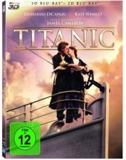 Titanic 3D Blu-ray Cover