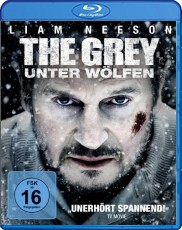 The Grey - Unter Wölfen  Blu-ray Cover