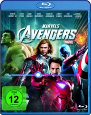 Marvel`s The Avengers  Blu-ray Cover