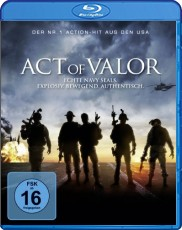 Act of Valor  Blu-ray Cover
