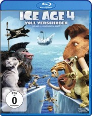 Ice Age 4 - Voll verschoben  Blu-ray Cover