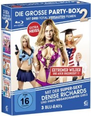 Die große Party Box 2 (American High School, Wild Chicks, Im tiefen Tal der Superbabes) Blu-ray Cover