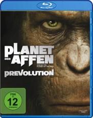 Planet der Affen: Prevolution  Blu-ray Cover