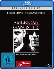American Gangster (Extended Edition) Blu-ray Cover