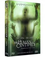 Human Centipede - Der menschliche Tausendfüssler - Uncut (Limited Collector`s Edition) Blu-ray Cover