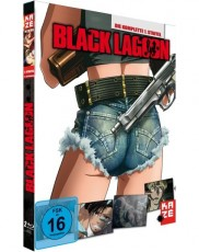 Black Lagoon - Staffel 1  Blu-ray Cover