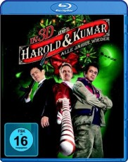 Harold & Kumar - Alle Jahre wieder 3D (+ Extended Cut) Blu-ray Cover
