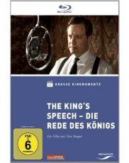 The King`s Speech - Die Rede des Königs - Große Kinomomente  Blu-ray Cover