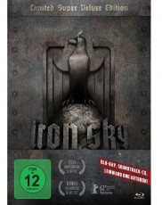 Iron Sky - Wir kommen in Frieden! (Limited Super Deluxe Edition) Blu-ray Cover