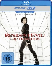Resident Evil: Retribution 3D (Premium Limited Edition) Blu-ray Cover