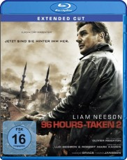 96 Hours - Taken 2  Blu-ray Cover