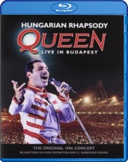 Queen - Hungarian Rhapsody: Live In Budapest  Blu-ray Cover