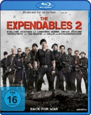 The Expendables 2 - Back for War  Blu-ray Cover