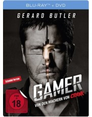 Gamer - Uncut (Limited Steelbook Edition) Blu-ray Cover