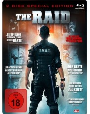 The Raid (2-Disc Special Steelbook Edition) Blu-ray Cover