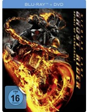 Ghost Rider: Spirit of Vengeance (Limited Steelbook Edition) Blu-ray Cover