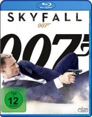 James Bond 007 - Skyfall  Blu-ray Cover
