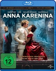 Anna Karenina (2012) Blu-ray Cover