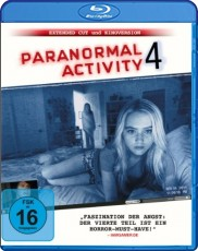 Paranormal Activity 4  (inkl. DVD)  Blu-ray Cover
