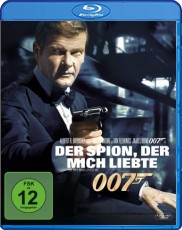 James Bond - Der Spion, der mich liebte  Blu-ray Cover