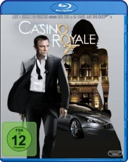 James Bond - Casino Royale  Blu-ray Cover