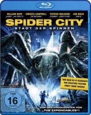 Spider City  Blu-ray Cover