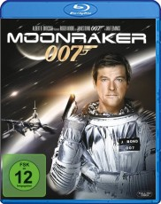 James Bond - Moonraker  Blu-ray Cover