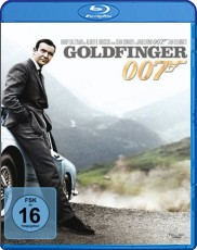 James Bond - Goldfinger  Blu-ray Cover
