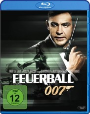 James Bond - Feuerball  Blu-ray Cover