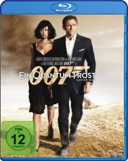 James Bond - Ein Quantum Trost  Blu-ray Cover