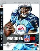 Madden NFL 08 PS3 Cover