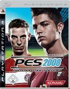 PES 2008: Pro Evolution Soccer  PS3 Cover