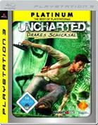 Uncharted: Drakes Schicksal - Platinum PS3 Cover