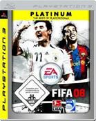 FIFA 08: Platinum  PS3 Cover