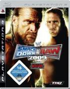 WWE Smackdown vs. Raw 2009 PS3 Cover